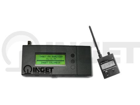 Monitor de frecuencia y modulacion para FM